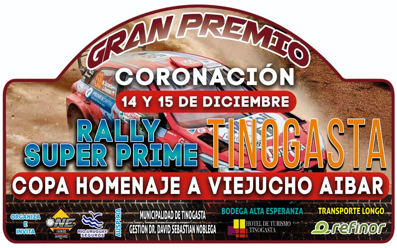 Chapa Tinogasta Rally Belicho