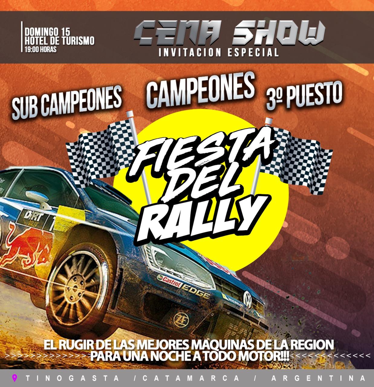 Chapa Tinogasta Rally Belicho 2