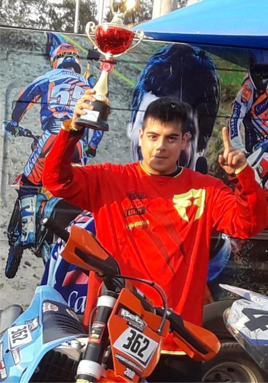 Facundo Pajon Campeon