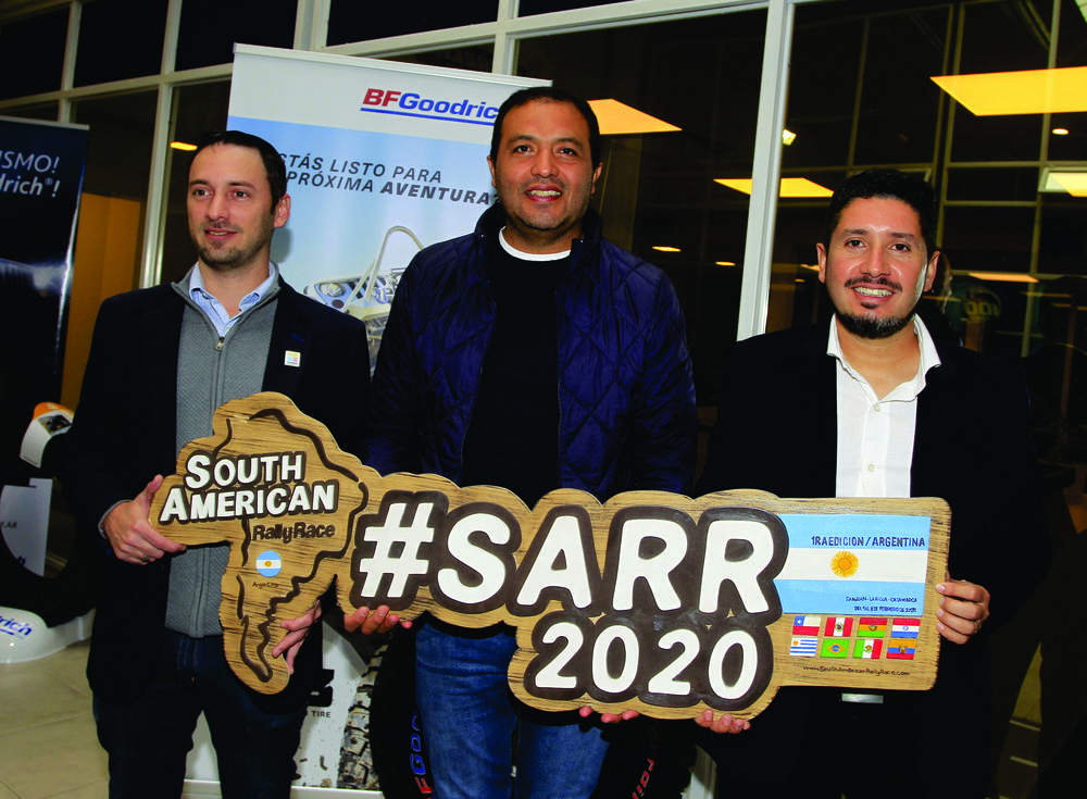 Presentacion South American Rally Race Argentina 2020 2