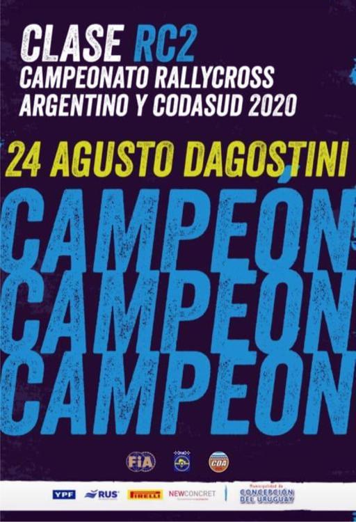 Augusto Dagostini Campeon 22243434
