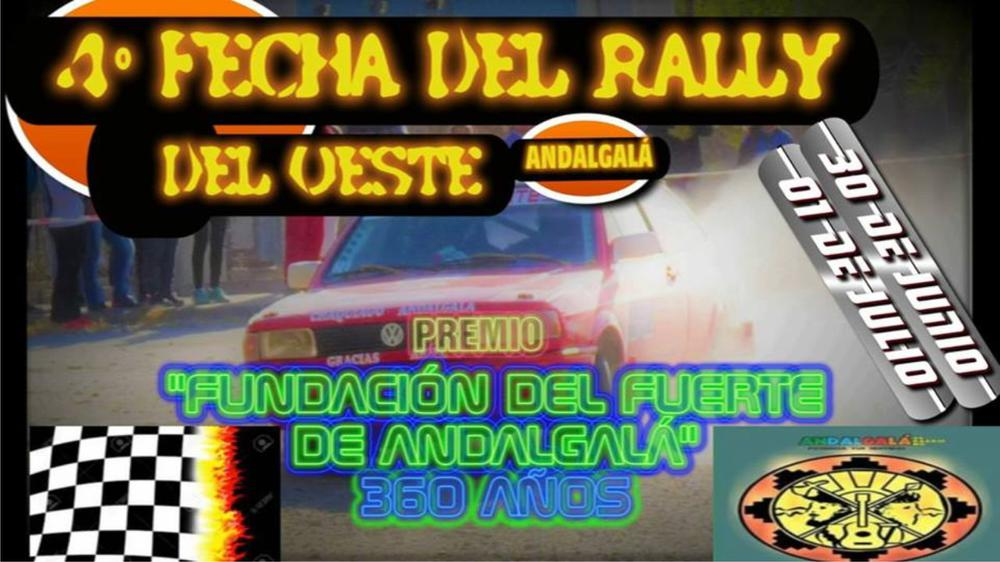 Banner Rally del Oeste
